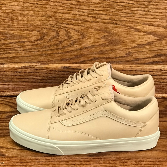 Vans Old Skool DX Veggie Tan Leather Shoes NWT
